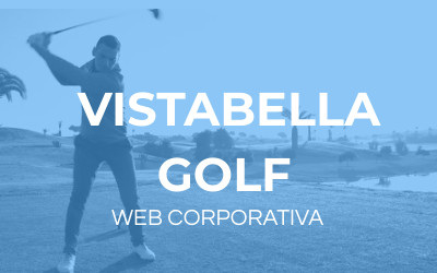 diseño web vistabella golf